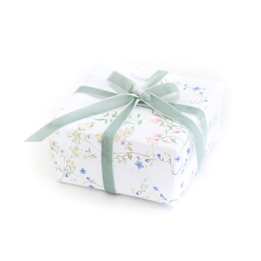 Floral Gift Wrap by Larsen McDowell