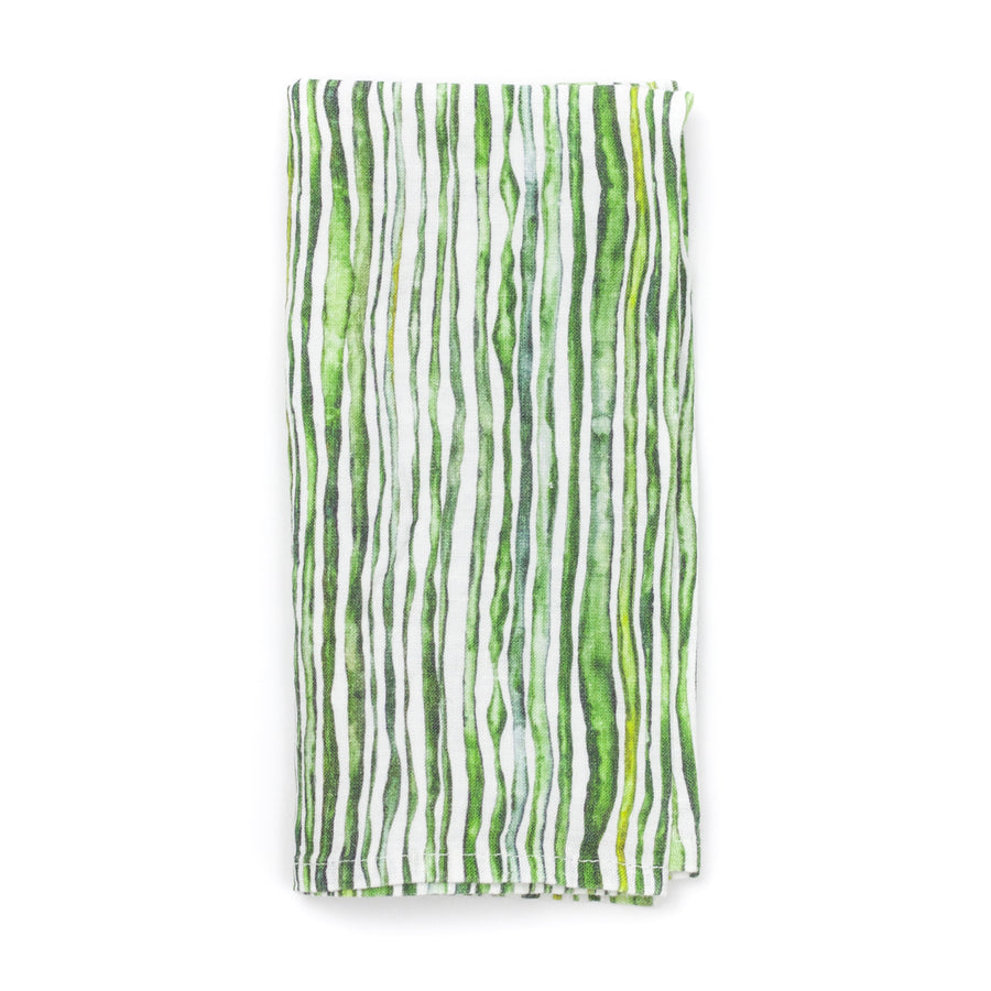 Green Stem Linen Napkin