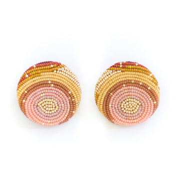 Movanda Earring, Pink Sunset