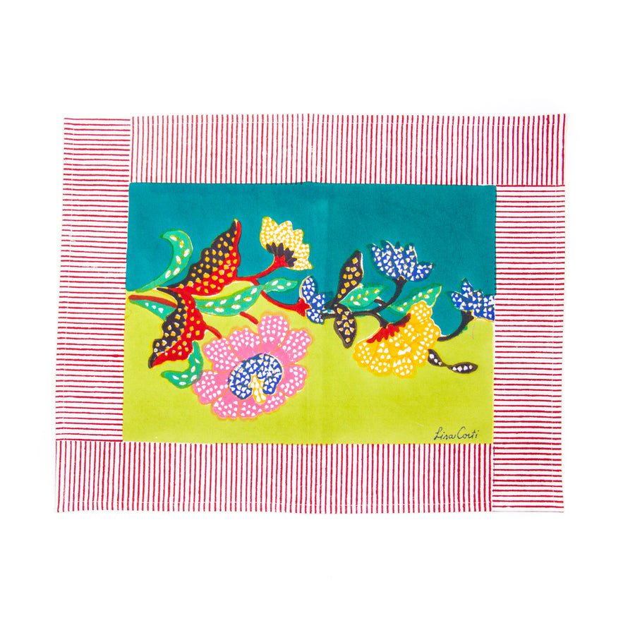 Chutney Peacock Placemat
