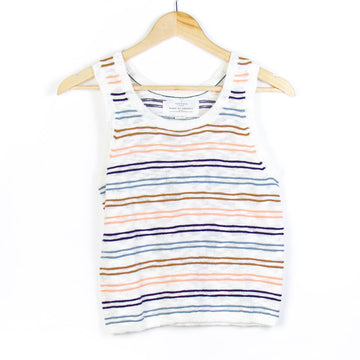Quinn Sweater Tank, Multi Stripe