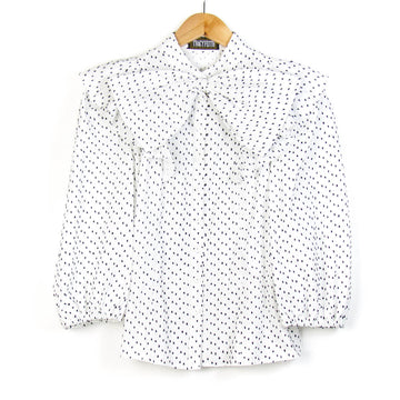 Bon Bon Blouse, French Dot