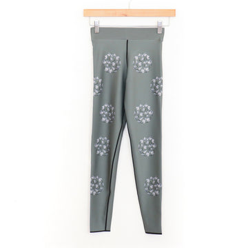 Little Bells Legging, Moss