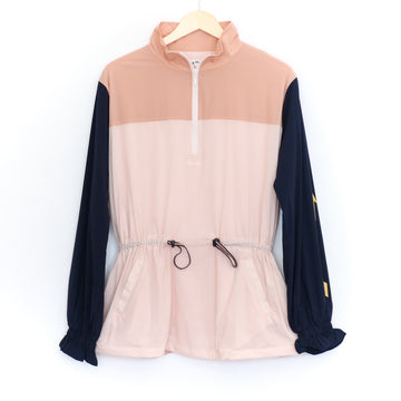 Colour Block Yoko Jacket, Pink