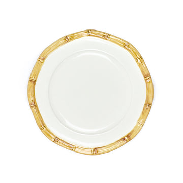 Bamboo Salad Plate, Natural