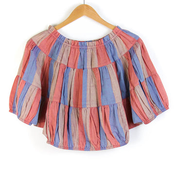Tribal Sunset Sola Blouse
