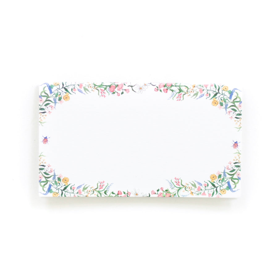 Spring Floral Place Card Set