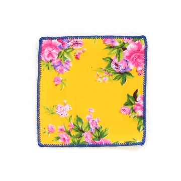 Chintz Cocktail Napkin, Sunshine x Pink