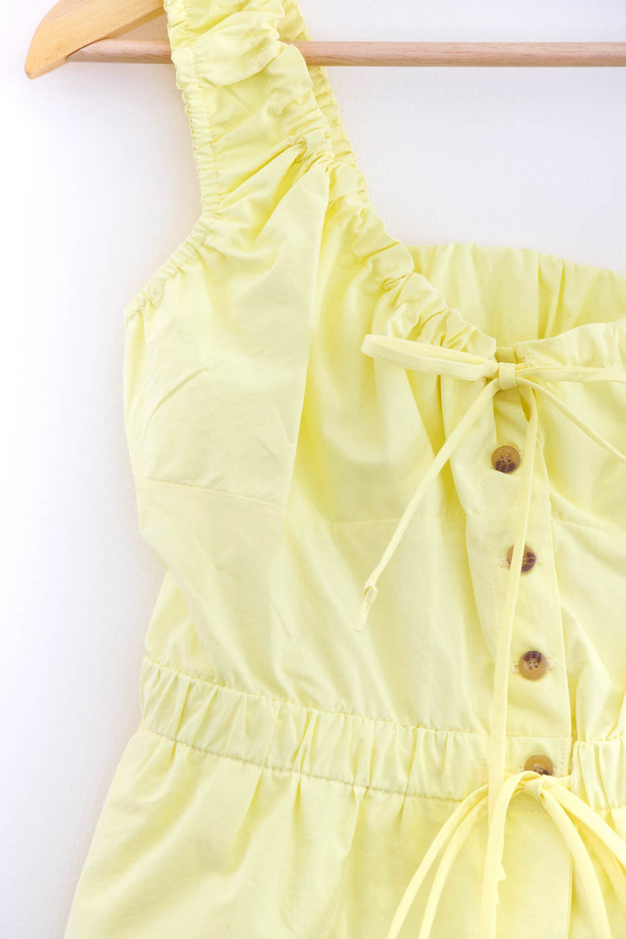 Ilaria Cotton Top, Buttercup Yellow