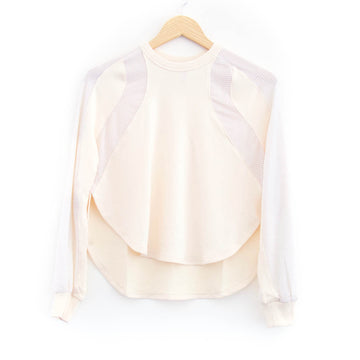 Soothe Drift Pullover, Cream