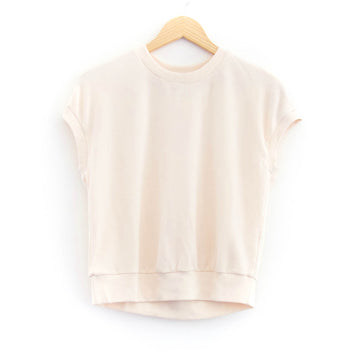 Soothe Cut Out Pullover, Cream