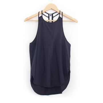 Bubble Mesh Tank, Black