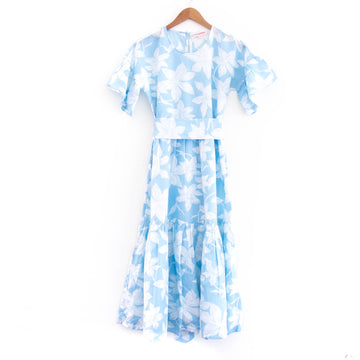 Fete Dress, Blue