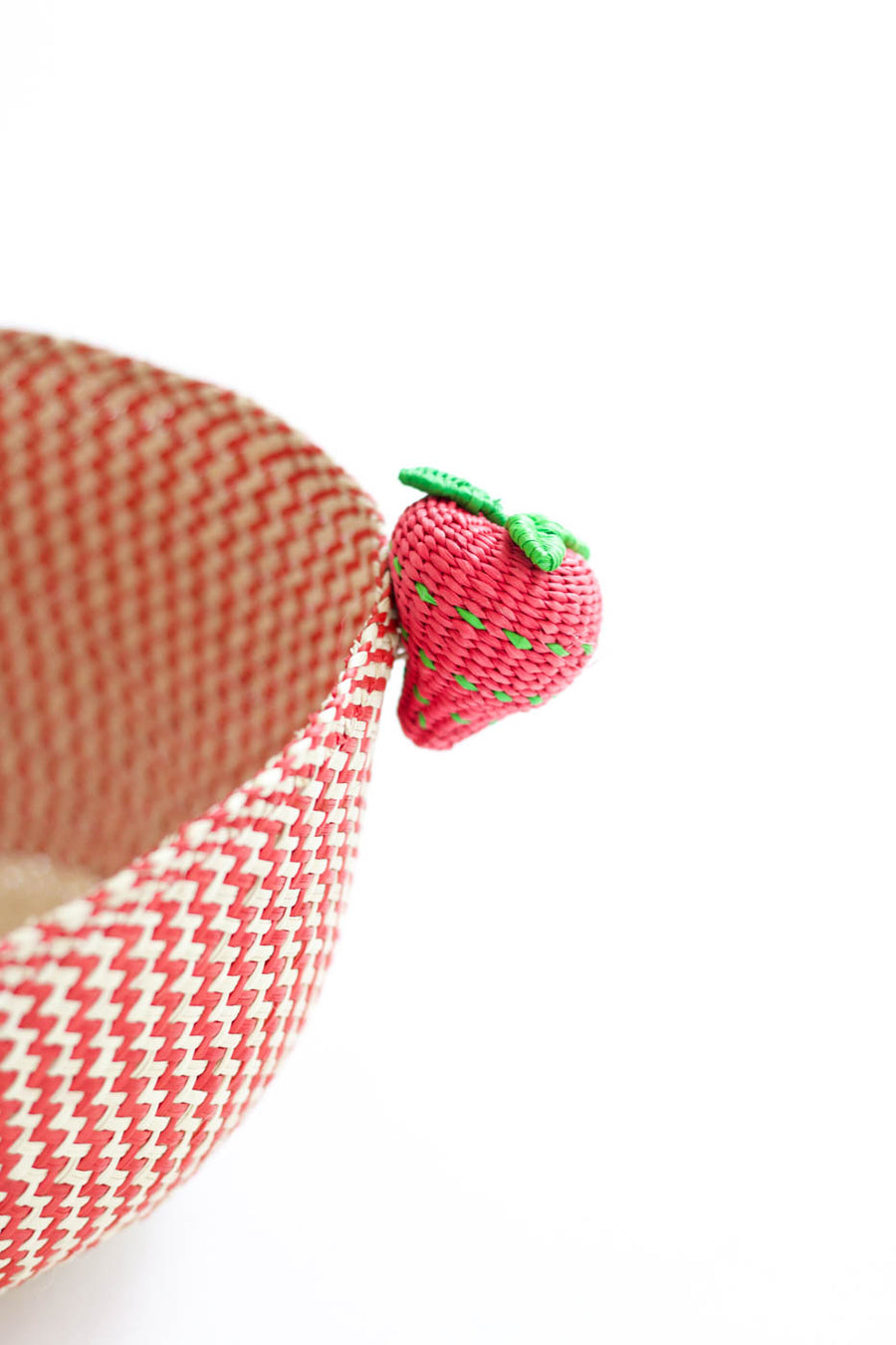 Palm Strawberry Basket