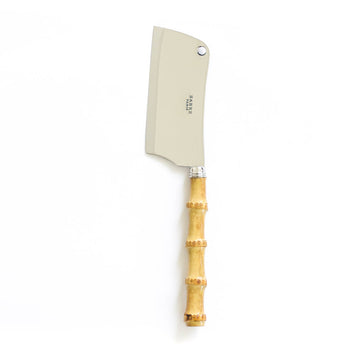 Bamboo Cheese Cleaver Knife