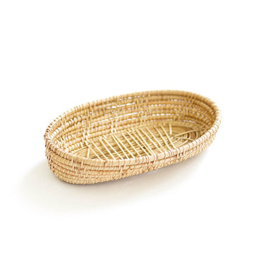 Woven Bread Basket, Natural