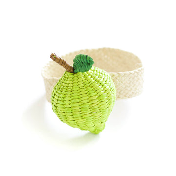 Palm Lime Napkin Rings