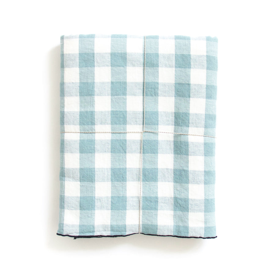 Gingham Tablecloth, Blue
