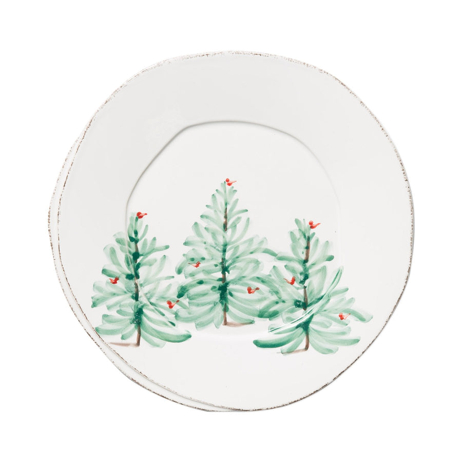 Fir Tree Salad Plate