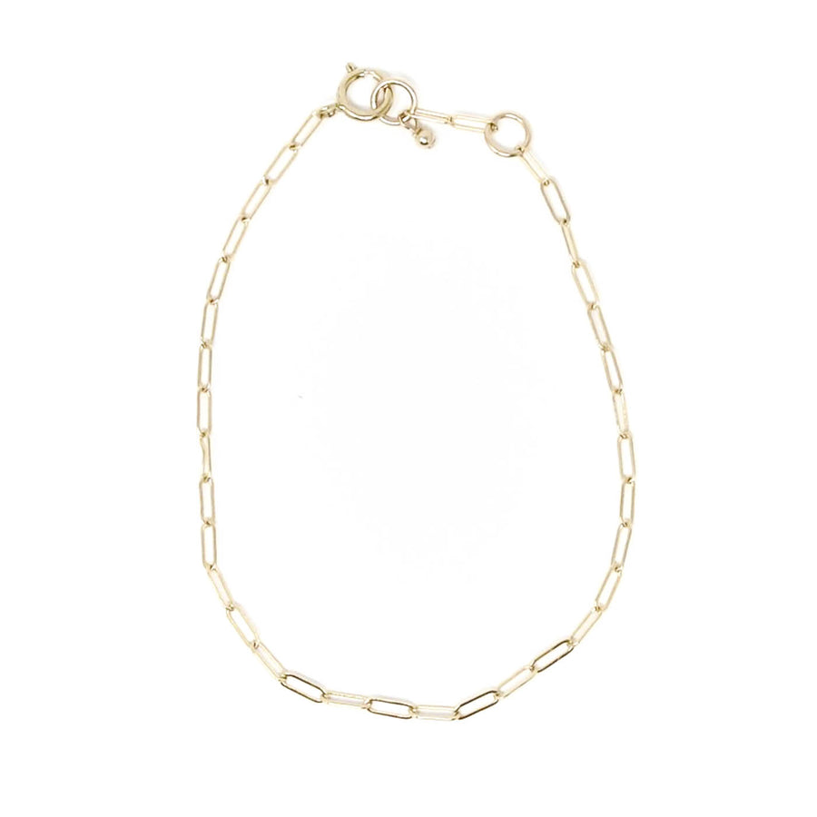 Biddy Chain Bracelet, Gold