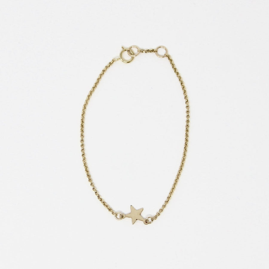 Mary Star Bracelet, Gold