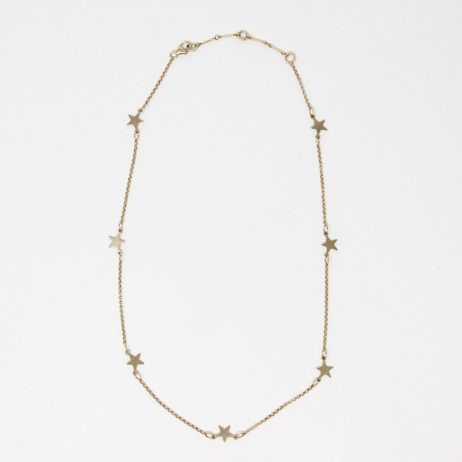 Oakley Star Necklace, Gold