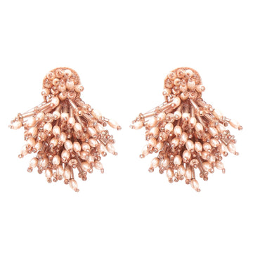 Burst Earrings, Blush