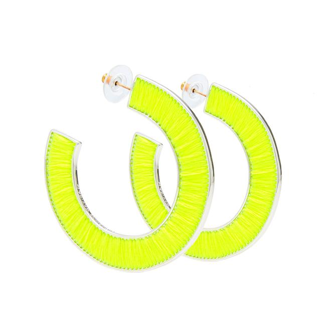 Fiona Earring, Neon Yellow