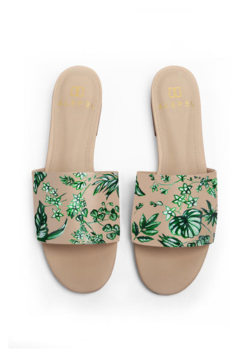 Emerald Jungle Beige Slide