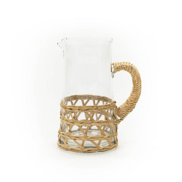 Island Wrapped Pitcher, Natural (Large)