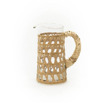 Island Wrapped Pitcher, Natural (Small)