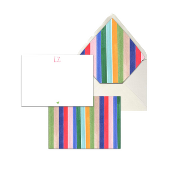 Circus Stripe Stationery Set