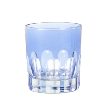 Rialto Old Fashioned Glass, Blue Thistle
