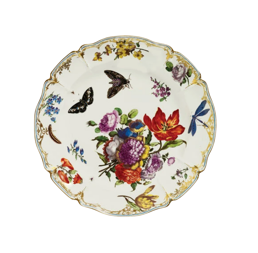 Butterfly Tin Plate