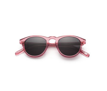 Guava Black Round Sunglasses