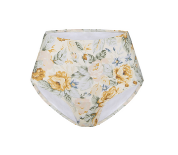 Citrus Floral High Waisted Pant