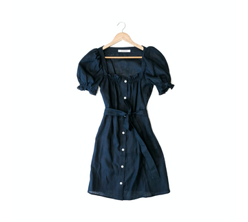 Brigitte Mini Dress, Navy