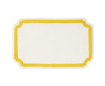 Mallorca Placemat, Yellow