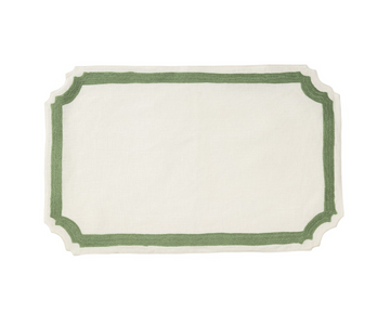Mallorca Placemat, Green