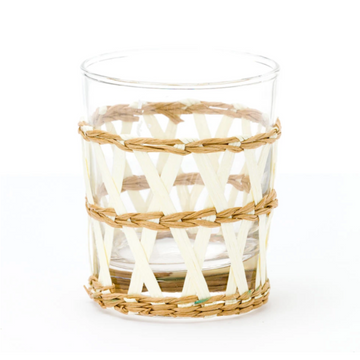 Island Wrapped Tumbler, Natural x White