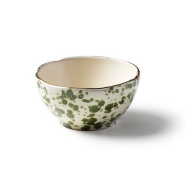 Splatter Little Bowl, Green