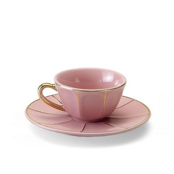 Espresso Cup With Saucer Mini, Blush