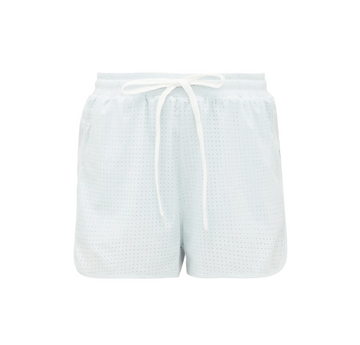 Mesh Track Short, Icy Blue