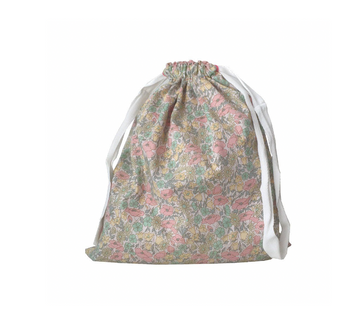 Liberty Drawstring Bag, Poppy & Daisy Lemon