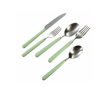 Sage Flatware, Five Piece Setting