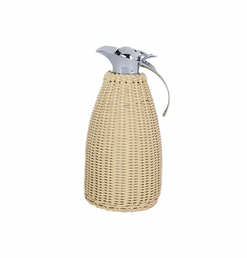 Natural Wicker Thermos