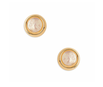 Iridescent Gold Studs