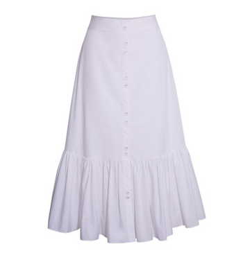 Georgica Skirt, White