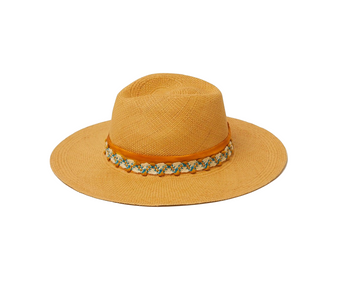 Thistle Straw Hat, Caramel