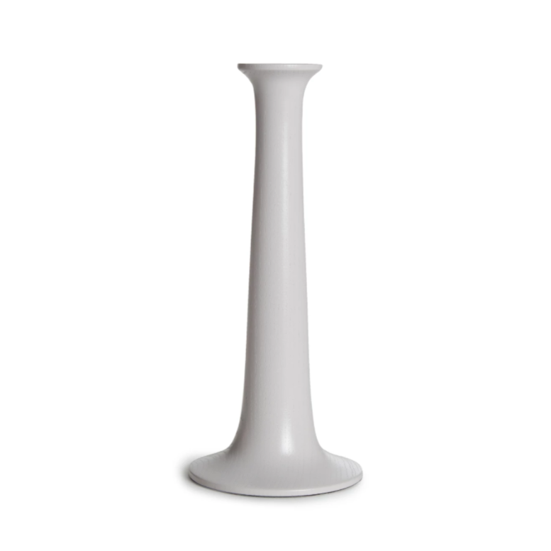 Large Candle Holder, Grey